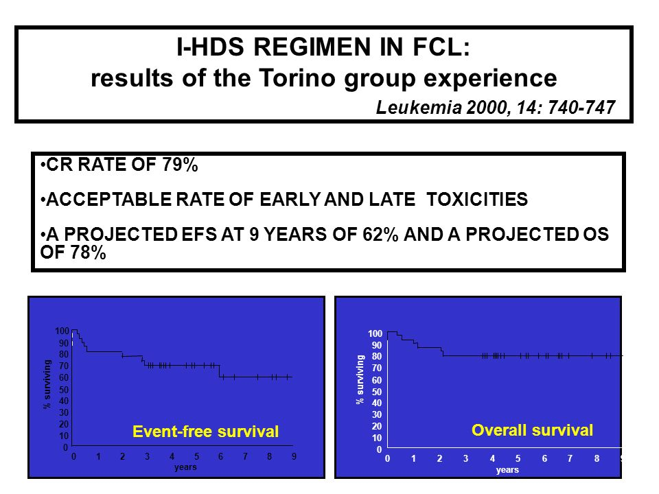 results of the Torino group experience