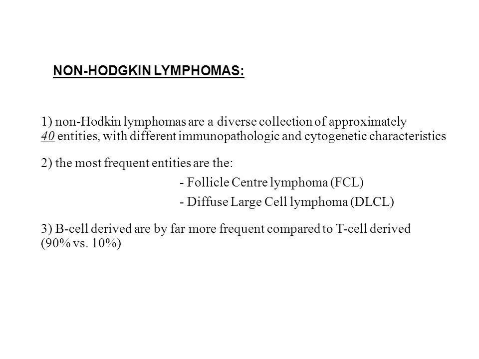 NON-HODGKIN LYMPHOMAS: