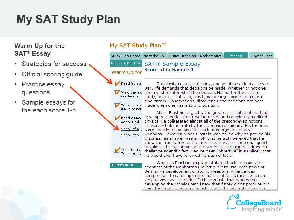 Practice For The Sat Essay