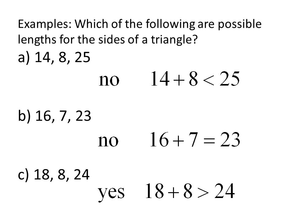 Honors Geometry Section 4.8 Triangle Inequalities - ppt ...