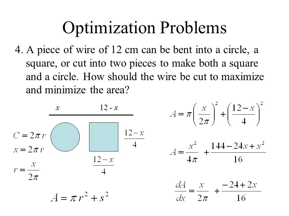 Optimization Problems Ppt Video Online Download