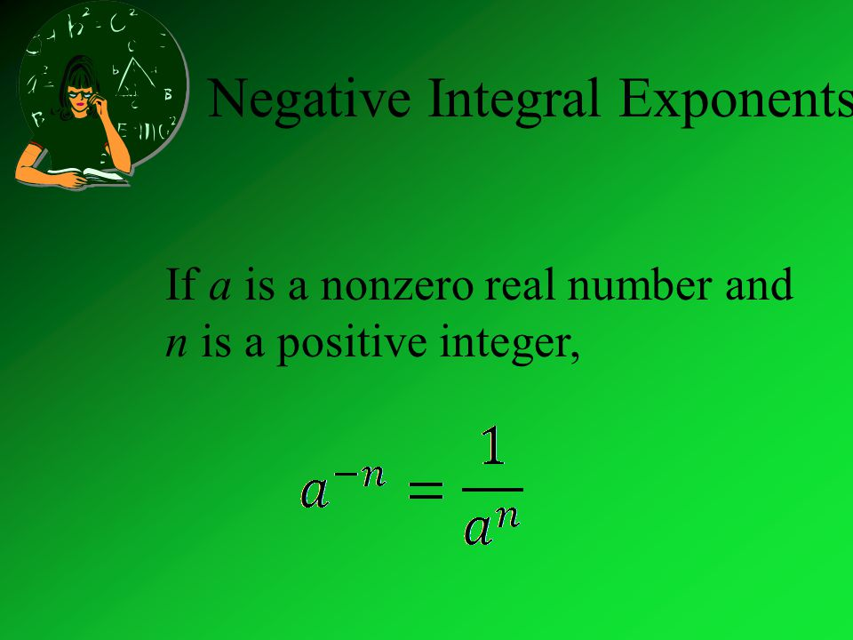 Negative Integral Exponents