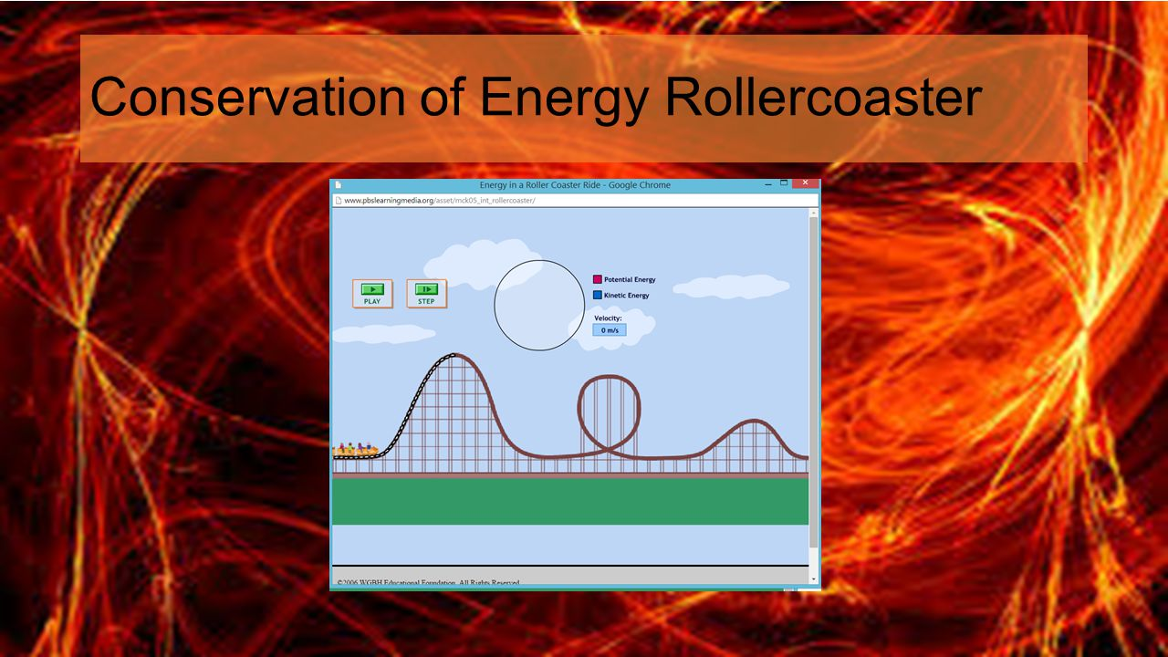 Conservation of Energy Rollercoaster