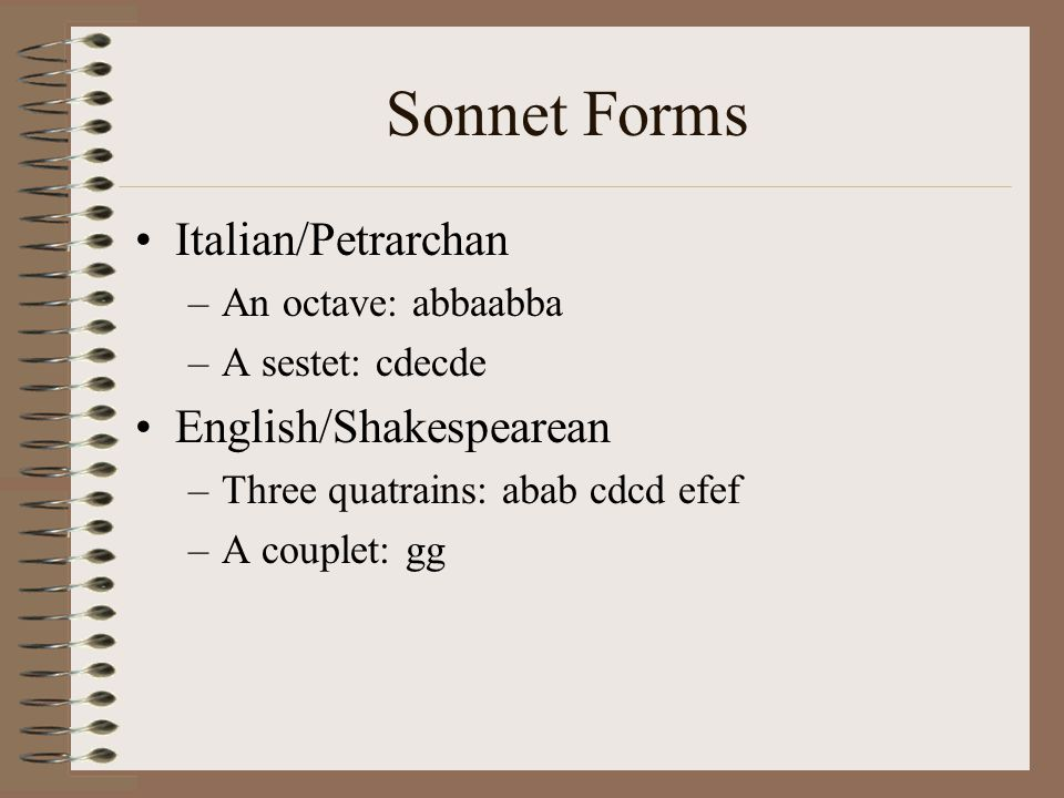 petrarchan sonnet in sidney and spenser In his amoretti spenser develops a unique sonnet form the sonnet came to england primarily through the sonnets of italian poet, petrarch, the premier sonnet writer of italy petrarch's sonnets i need to compare and contrast the themes and structures of edmund spenser's amoretti sonnet 18 spenser and shakespeare both speak of.