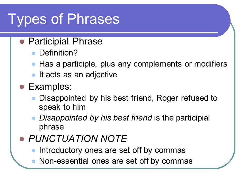 Phrases Amp Clauses Ppt Video Online Download