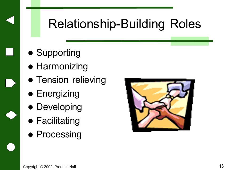 Relationship-Building Roles