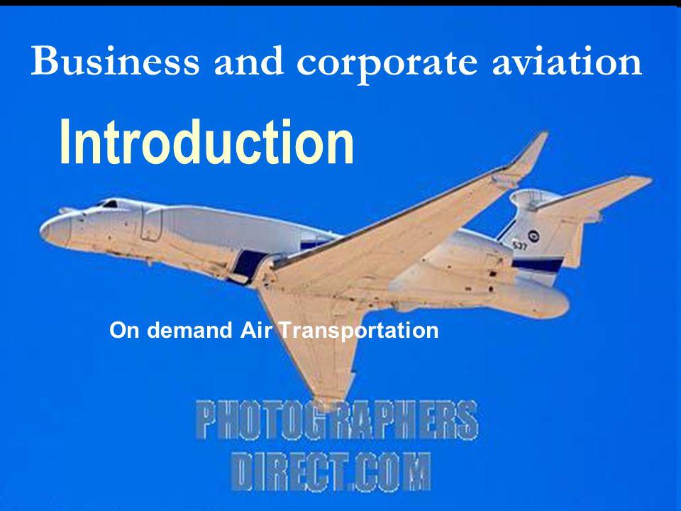 On demand Air Transportation