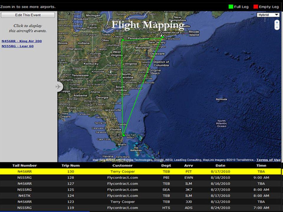 Flight Mapping