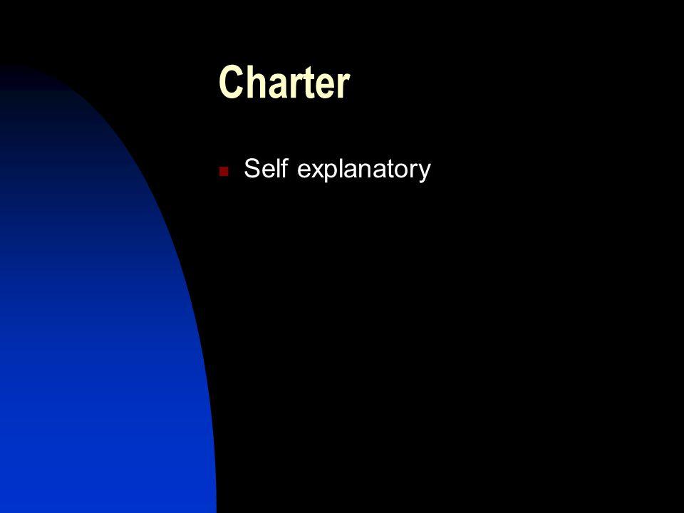 Charter Self explanatory