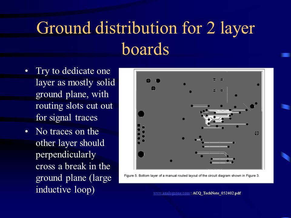 Pcb design layout tips ppt video online download for Design a plane online