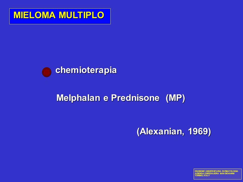Melphalan e Prednisone (MP)