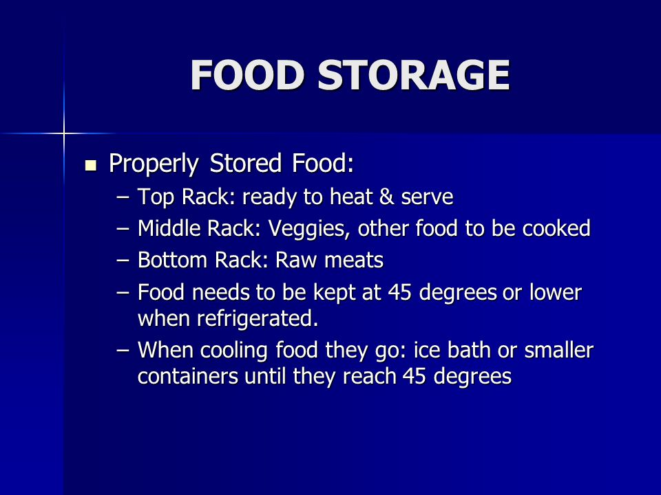 Cooling Food Properly : Food safety video from king county ppt online download