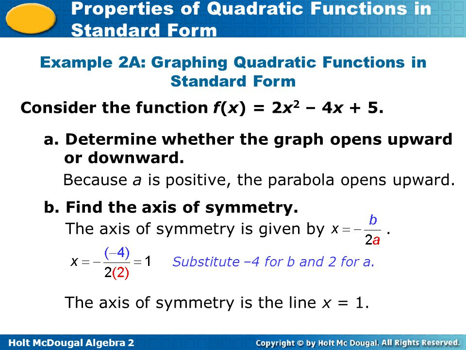 Give the coordinate of the vertex of each function ppt download – Graphing Quadratics in Standard Form Worksheet
