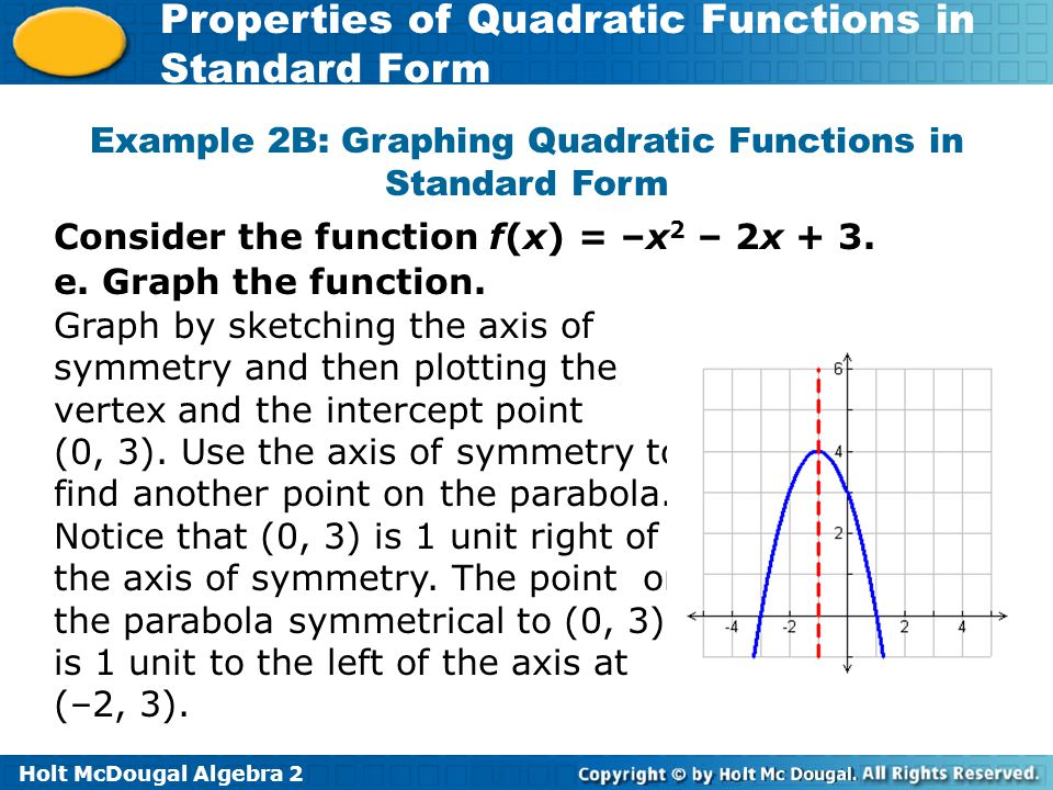 Give the coordinate of the vertex of each function ppt download – Algebra 2 Graphing Quadratic Functions Worksheet