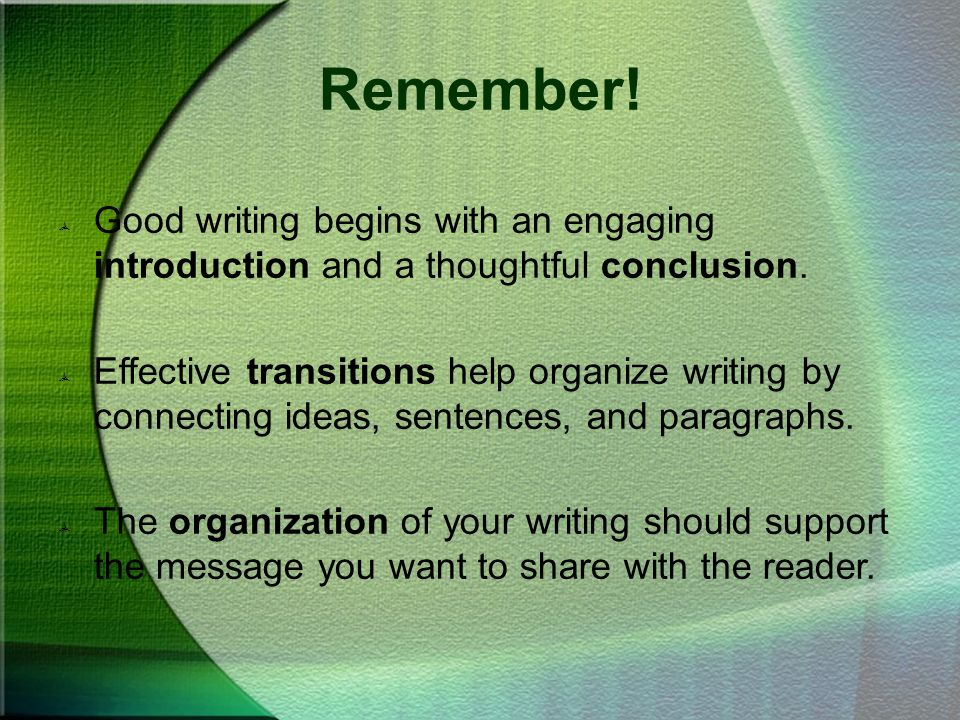effective beginning of writing essay How to write an introduction our worksheets on writing an engaging and interesting essay introduction are below especially beginning writers.