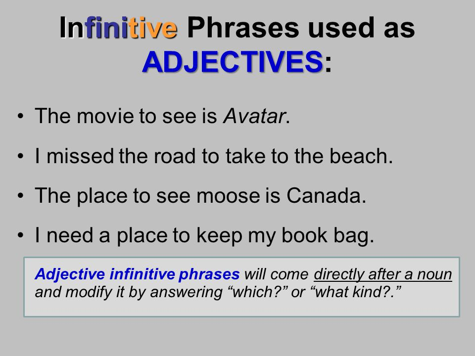 Verbals Gerund Participle Infinitive Ppt Video Online
