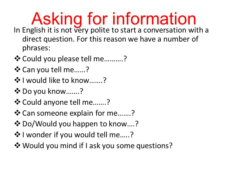 Good questions to ask to start a conversation