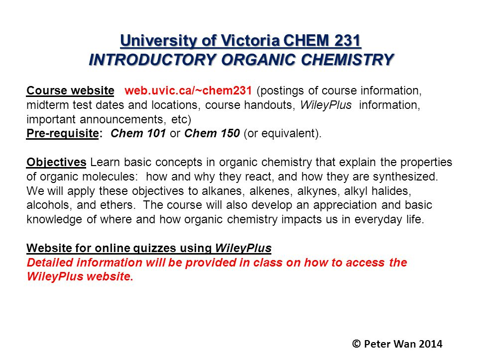 INTRODUCTORY ORGANIC CHEMISTRY