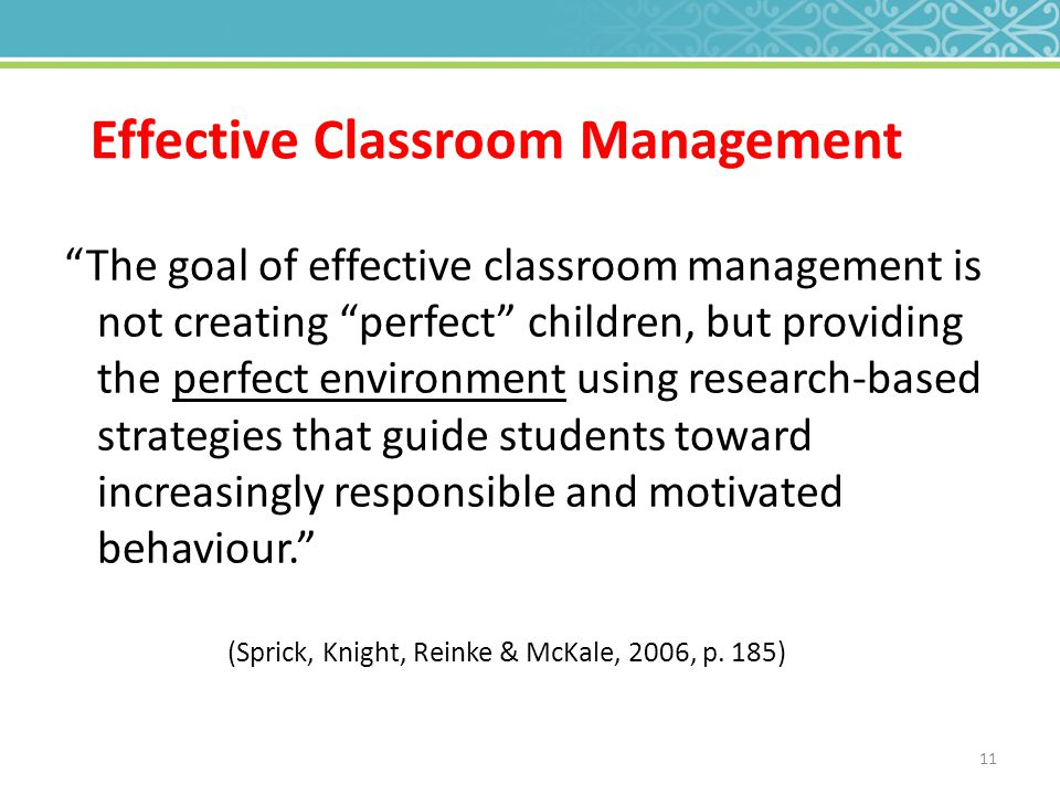 effective classroom factors to ensure that Can ensure that every student has an identified advisor20 belonging to a  use  effective classroom management and teaching methods to foster a positive.