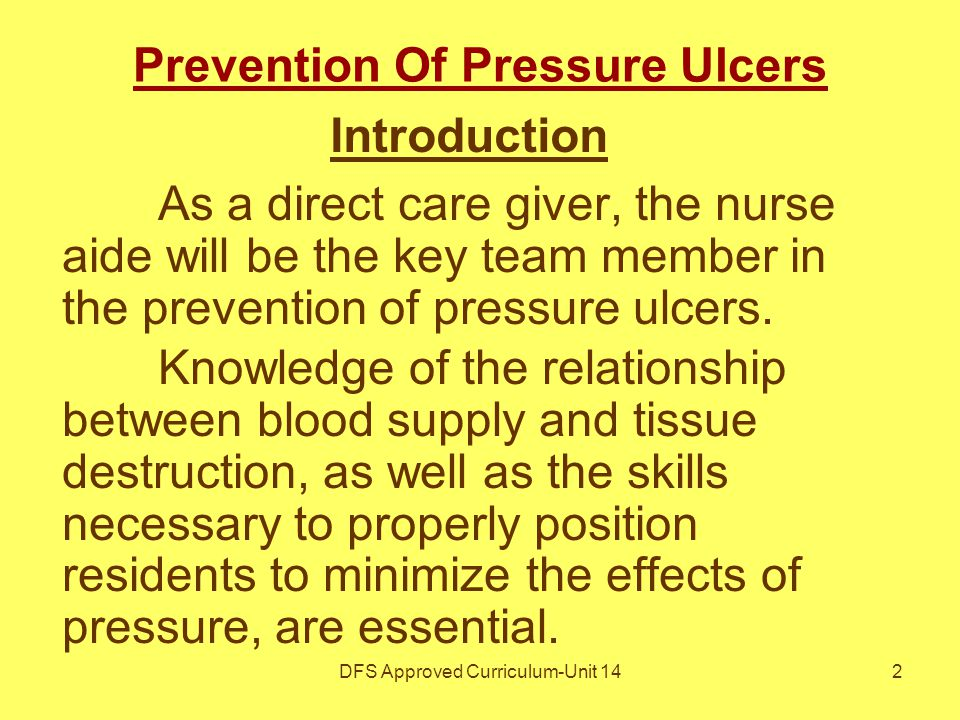 re positioning to prevent pressure ulcers Pressure ulcers continue to cause pain and suffering to patients and families as   according to the npuap repositioning for the prevention of pressure ulcers.