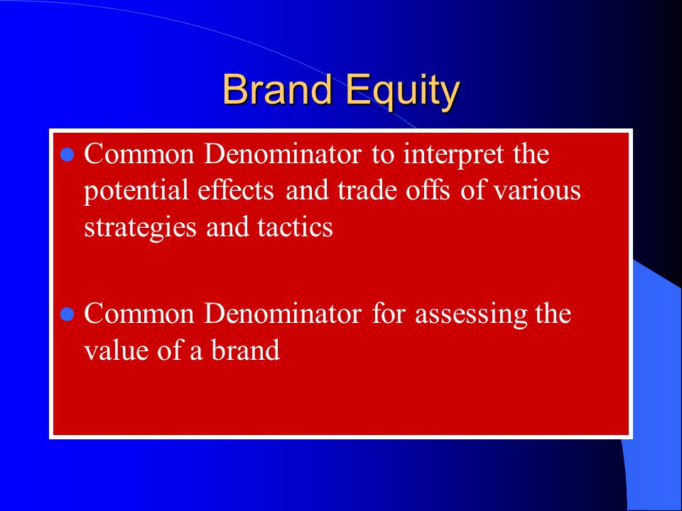 How Does a Pricing Strategy Affect Brand Equity?