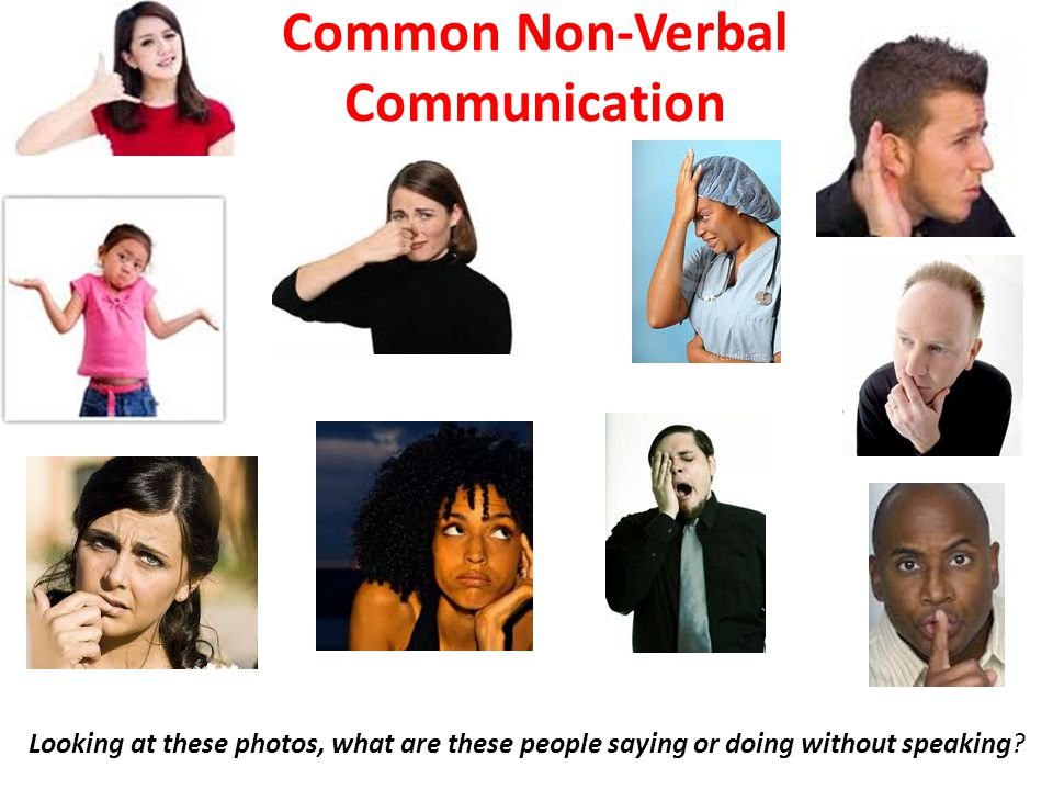 Common Non-Verbal Communication