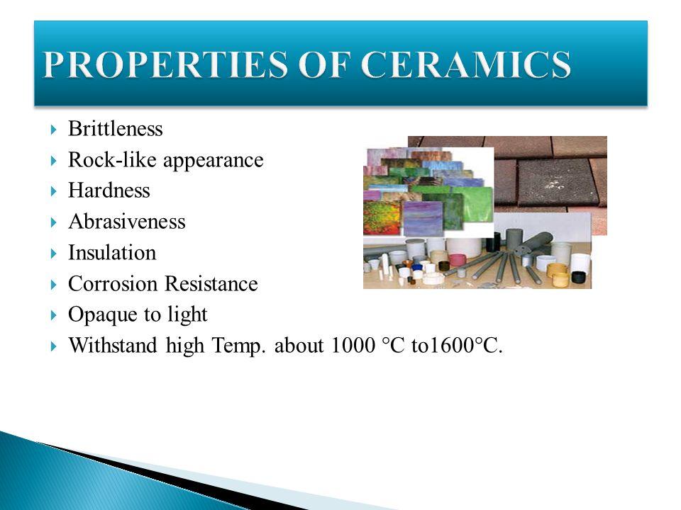 properties of ceramic materials pdf