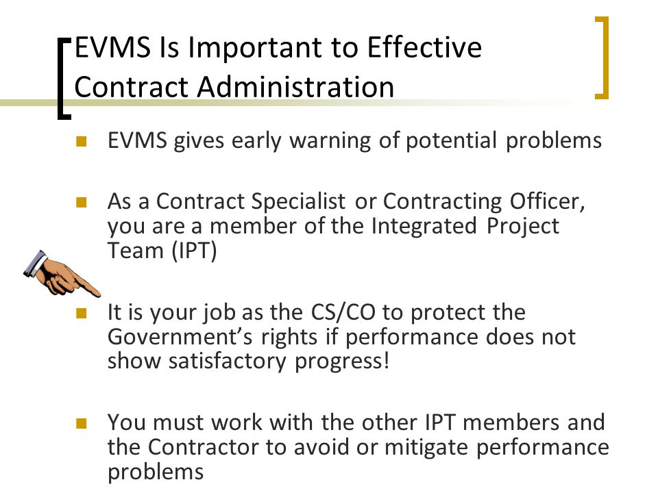 USING EARNED VALUE MANAGEMENT IN GOVERNMENT CONTRACTING ppt download – Contract Specialist Job Description