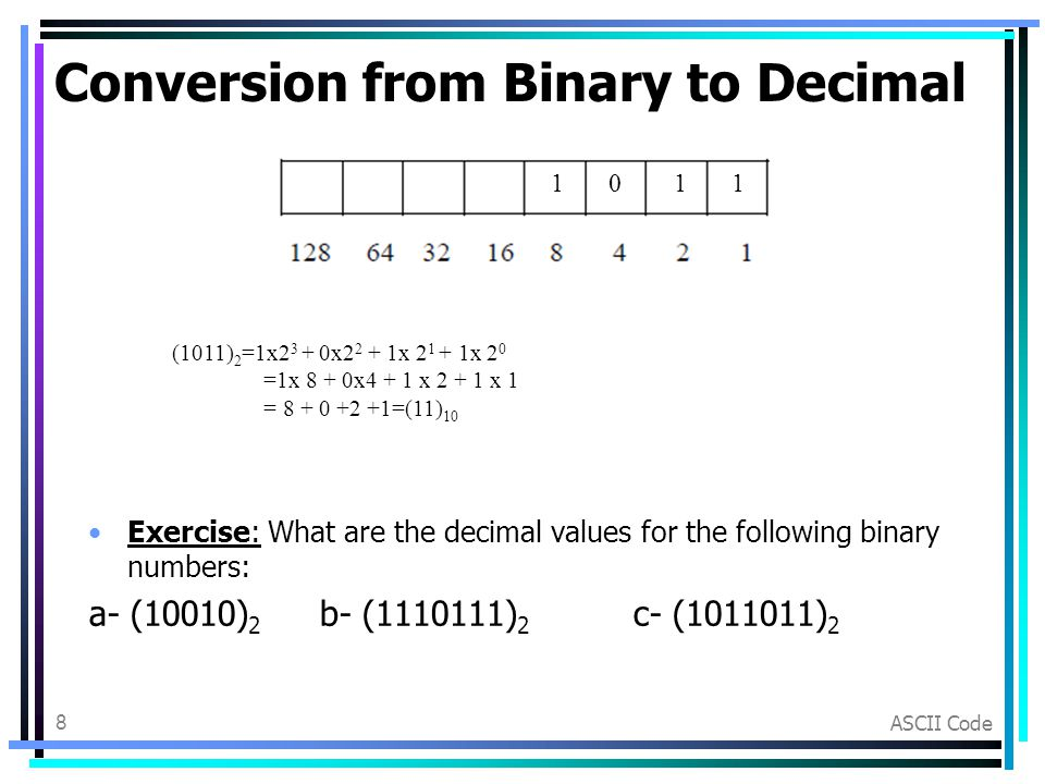 Binary ascii converter download