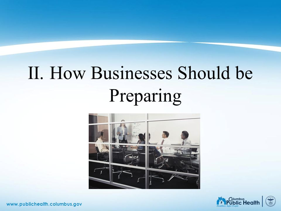 II. How Businesses Should be Preparing