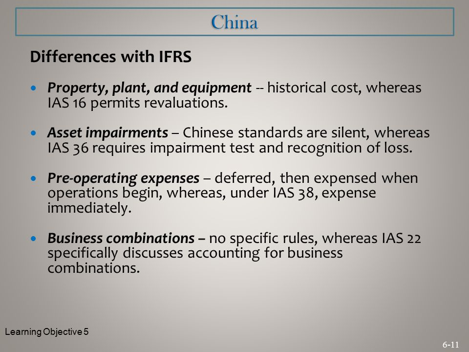 ifrs in china 146 doing business and investing in china accounting and reporting accounting and reporting 147 observations  and ifrs, and their different.