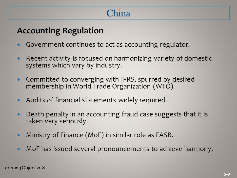 chinese accounting system The first section of the chapter is the introduction the second section will introduce a background of china's political structure as well as the party's role in government and the society, so as to enable the reader to have an understanding of china's political system and its functions section three will introduce the accounting.