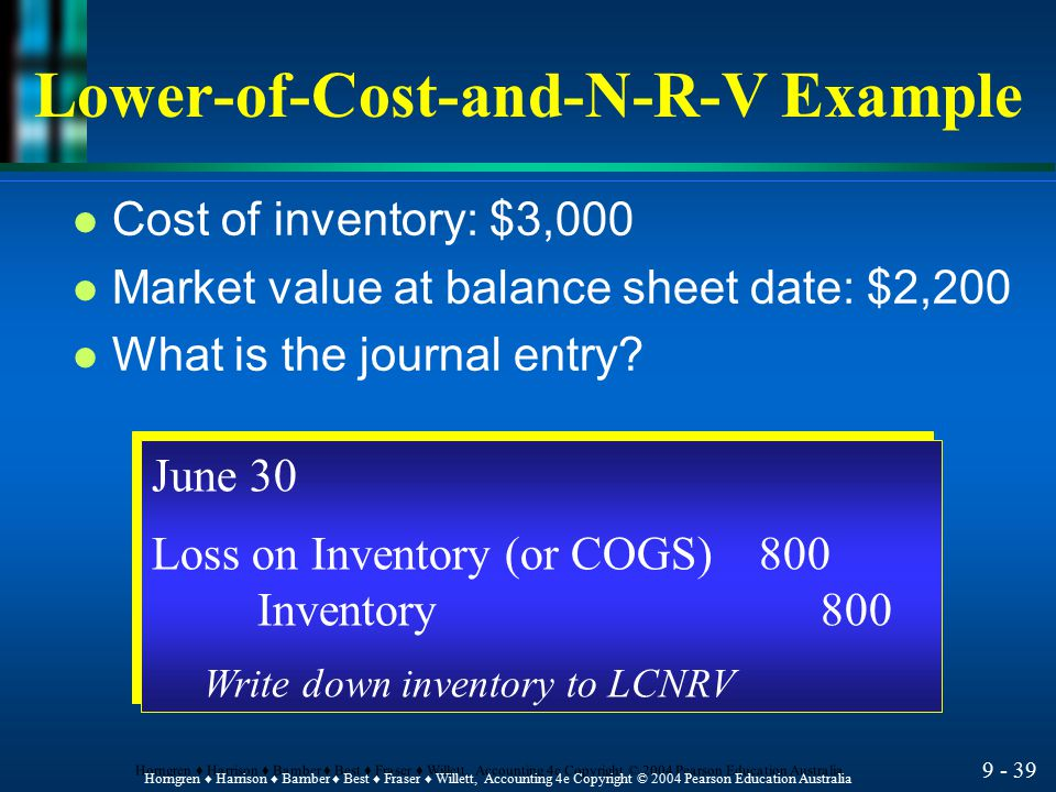 Lower-of-Cost-and-N-R-V Example