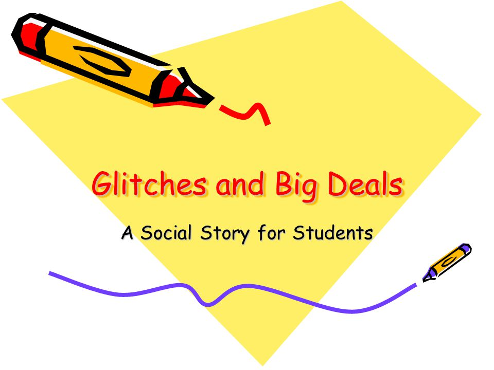 A Social Story for Students