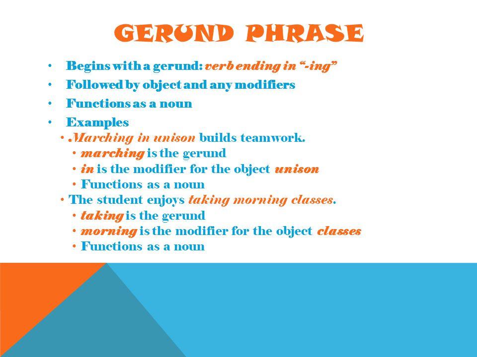 Grammar Unit 2 Phrases...