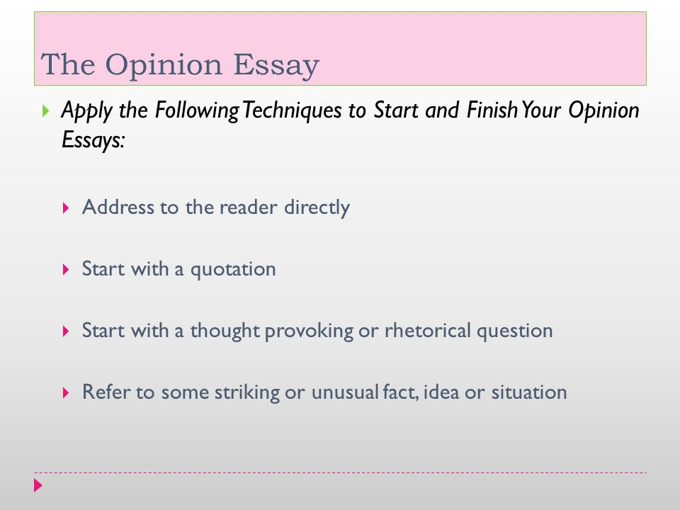 starting an essay with a rhetorical question A student who has chosen to start his essay with a rhetorical question should  keep in mind that the good introduction will never contain a series of question put .