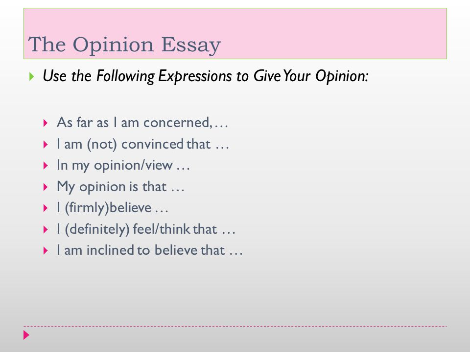 oppinion essay about friendship