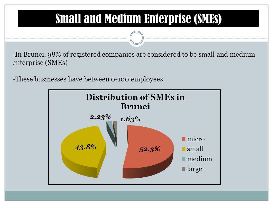 Small and Medium Enterprise (SMEs)