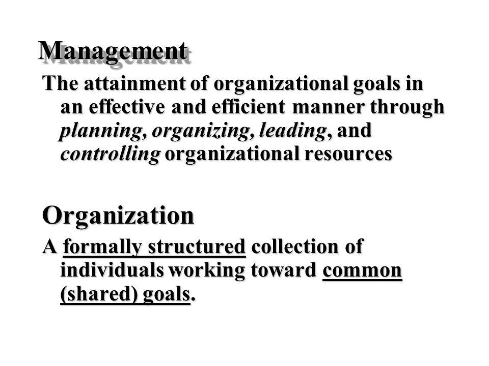 Management Organization