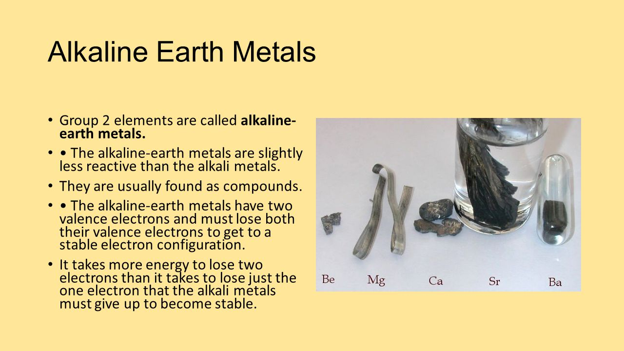 alkaline earth metals The efficient alkaline earth metal-catalysed hydrogenation of imines with  molecular hydrogen at remarkably low pressure provides an attractive.