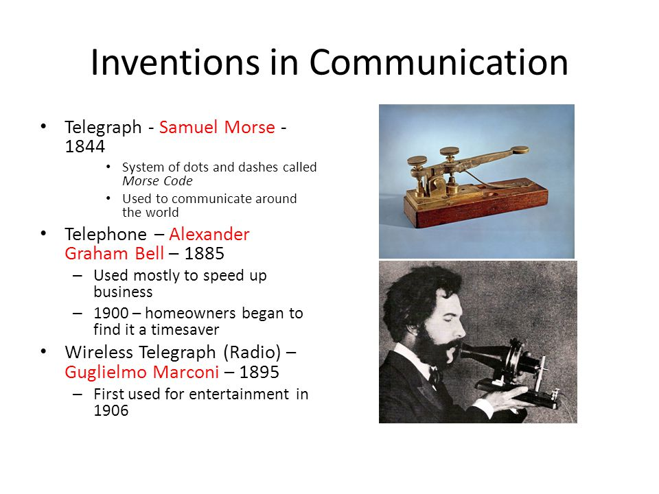 Inventors And Inventions Ppt Download