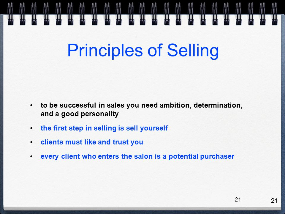 how to sell yourself to a client