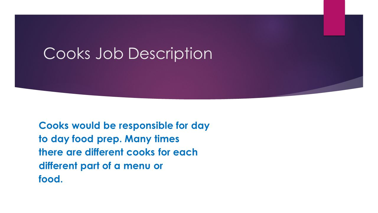 culinary arts by johanna loar ppt video online download