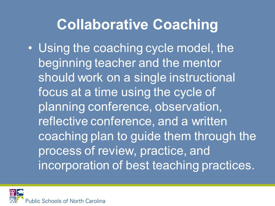 Collaborative Teaching Practices ~ A lifeline for north carolina s beginning teachers ppt