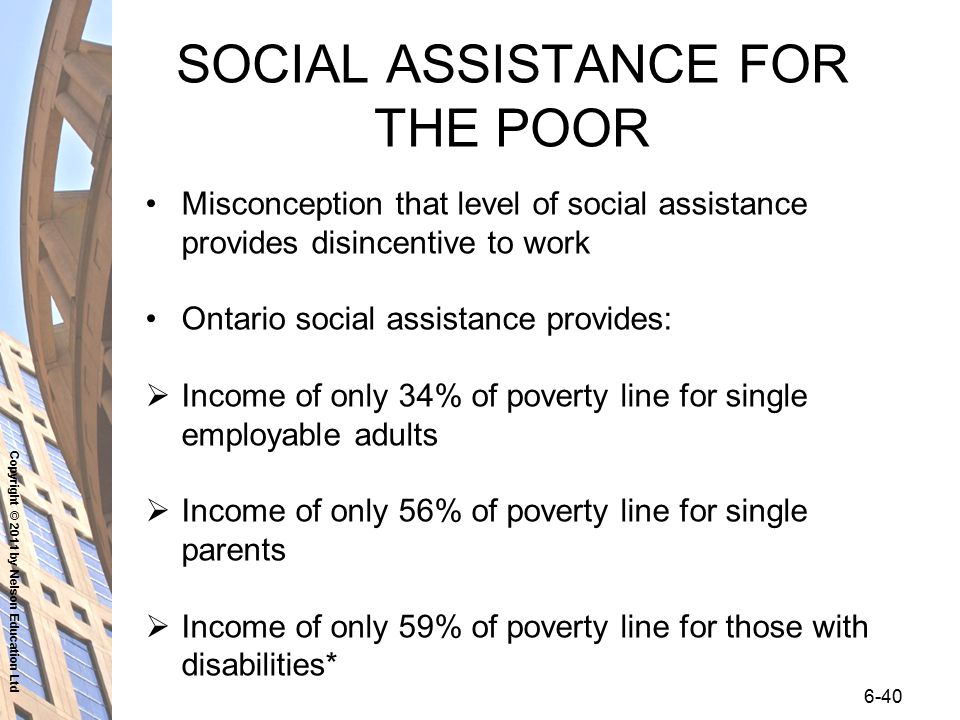 social assistance for single parents in ontario Frequently asked questions (faqs) case managers and foster parents can help you explore the you may be eligible for assistance the department of social.