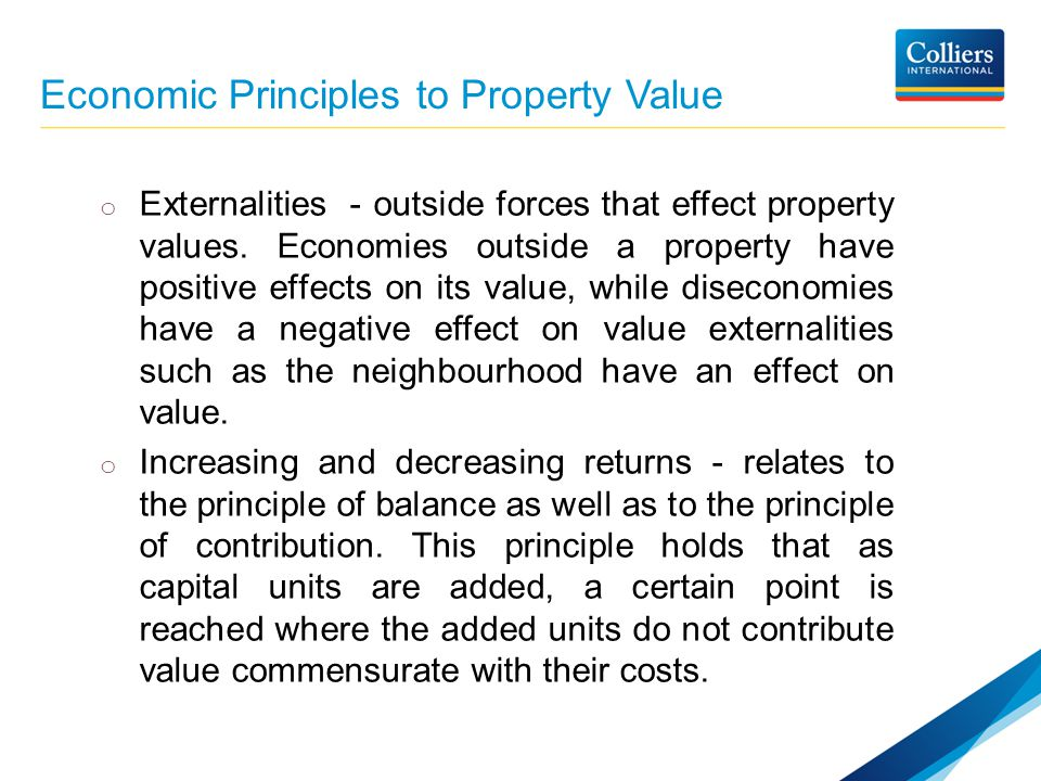 positive and negative externalities of real estate The failure of these real estate ventures has been the relationship between subsidized housing and nearby property offset by positive externalities.