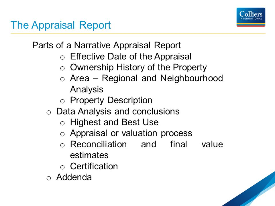 Introduction To Real Estate Valuation  Ppt Video Online Download