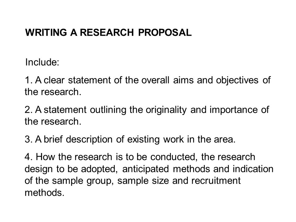 writing a dissertation proposal sample