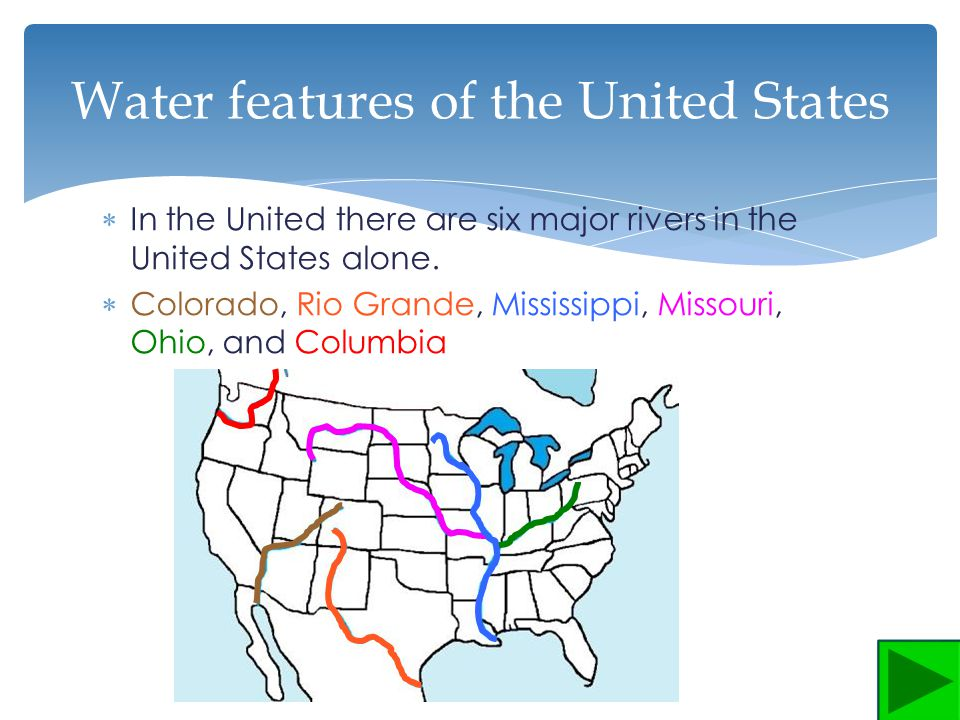United States Water Features Ppt Video Online Download - United states features