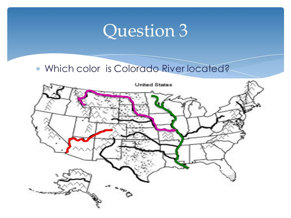United States Water Features Ppt Video Online Download - Calorado river us map